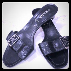 Prada slides purchased in Prada Italy